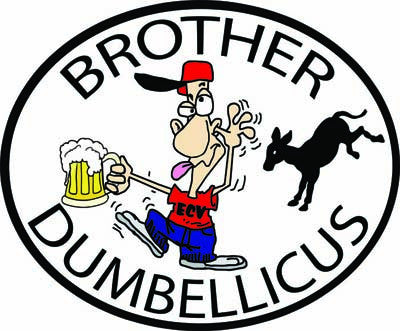 Brother Dumbellicus Pin