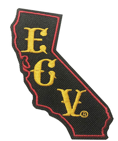 4 inch ECV California Patch