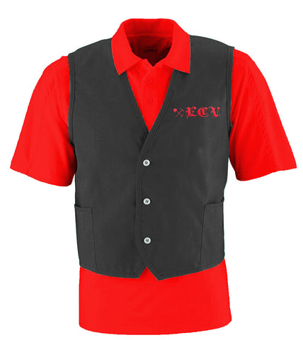 ECV Black Cloth Vest