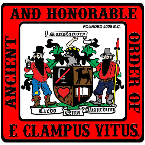 ECV Coat Of Arms Door Magnet 10""