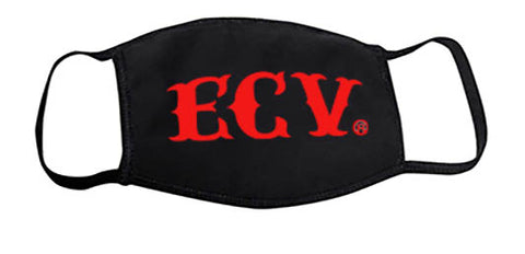 ECV Black Face Mask