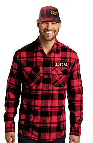 NEW: Fall Flannel Shirt and Cap Special