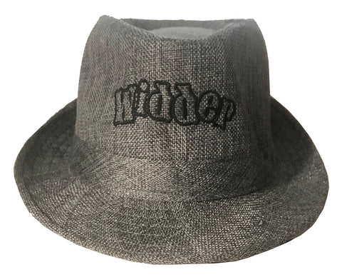 Last Chance (Clearance): Gray Widder Fedora Hat - Large