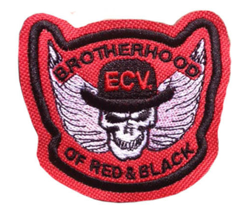 3 Inch Brotherhood of Red & Black Patch