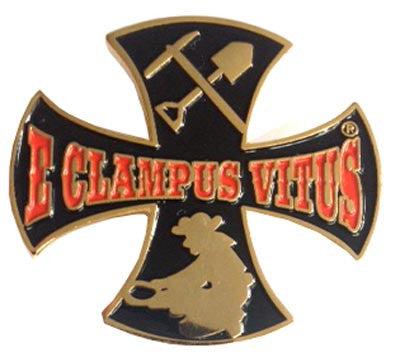 Clamper Iron Cross Miner Pin