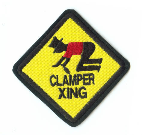 3 Inch Clamper Crossing Patch
