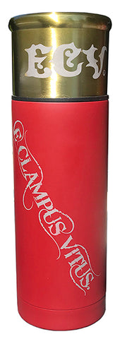 NEW: Shotgun Shell Style 33oz Stainless Steel Vacuum Bottle Thermos