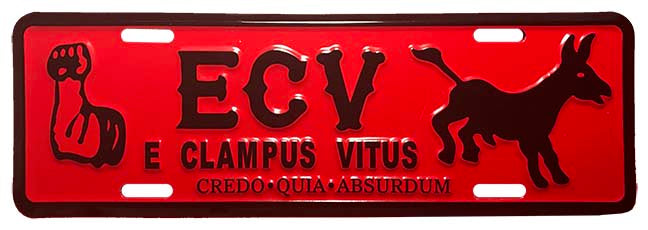 ECV license plate topper ( limited inventory)