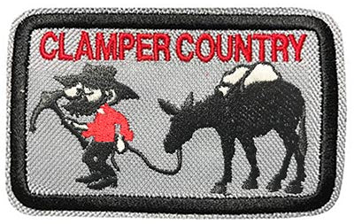 Clamper Country 4 inch patch