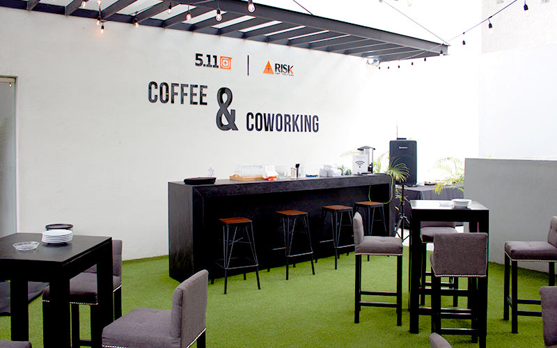 Terraza coffe and coworking Risk Top Tactical - 5.11 Tactical Official Store San Pedro Garza Garcia