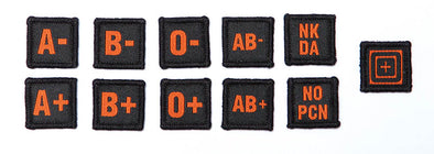 BLOOD TYPE PATCH KIT