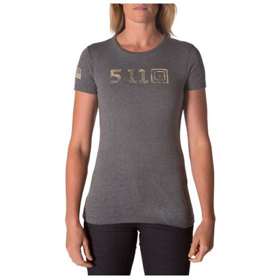 5.11 TACTICAL - WOMEN'S LEGACY TOPO FILL TEE - Risk Top Tactical