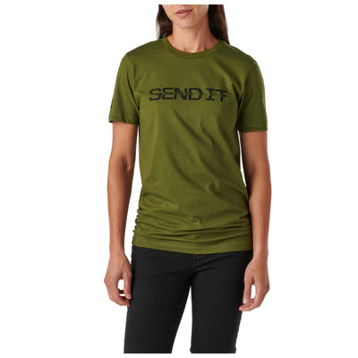5.11 TACTICAL - WOMEN SEND IT S/S TEE - Risk Top Tactical