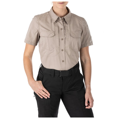 5.11 TACTICAL - WOMEN STRYKE S/S SHIRT - Risk Top Tactical