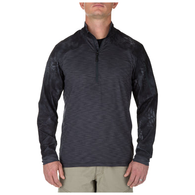 RAPID HALF ZIP LONG SLEEVE