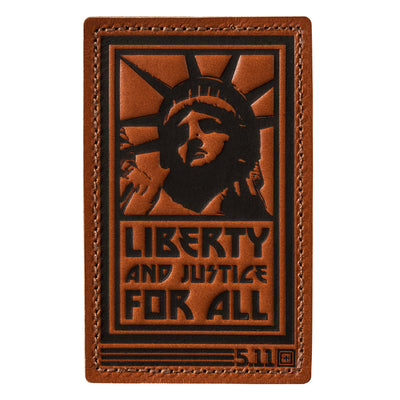 LIBERTY AND JUSTICE PATCH - Risk Top Tactical