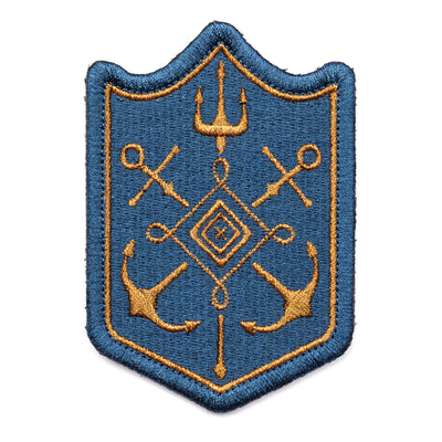 ANCHOR TRIDENT PATCH - Risk Top Tactical