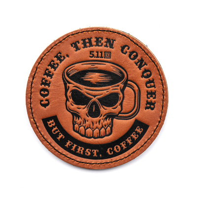 COFFEE THEN CONQUER PATCH - Risk Top Tactical