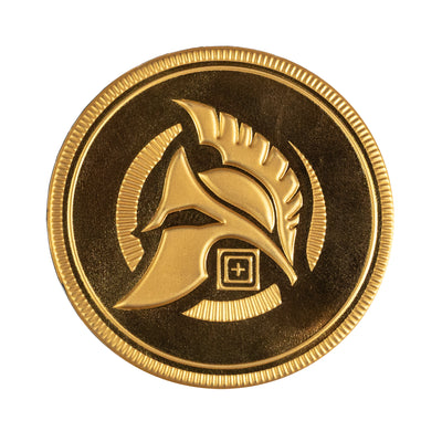 5.11 TACTICAL - SPARTAN COIN PATCH - RISK TOP TACTICAL