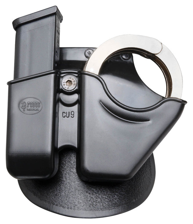 PADDLE COMBO POUCH CUFFS W. 9MM MAG