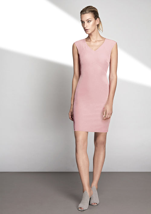 Beth Stretch Cady Dress - HEMYCA London