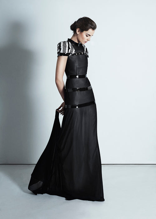 Marguerite Chiffon Gown - HEMYCA London
