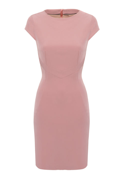 Dita Pink Dress - HEMYCA London