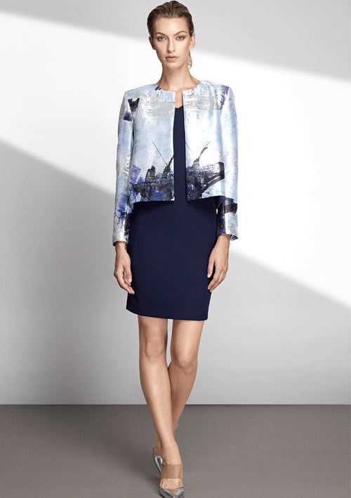 Ida Lurex Jacquard Jacket - HEMYCA London