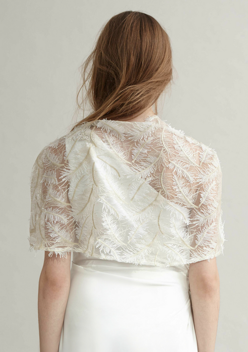 Misty lace Cape - HEMYCA London