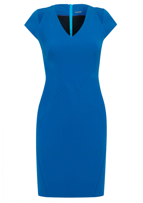 Celia Stretch Cady Dress - HEMYCA London
