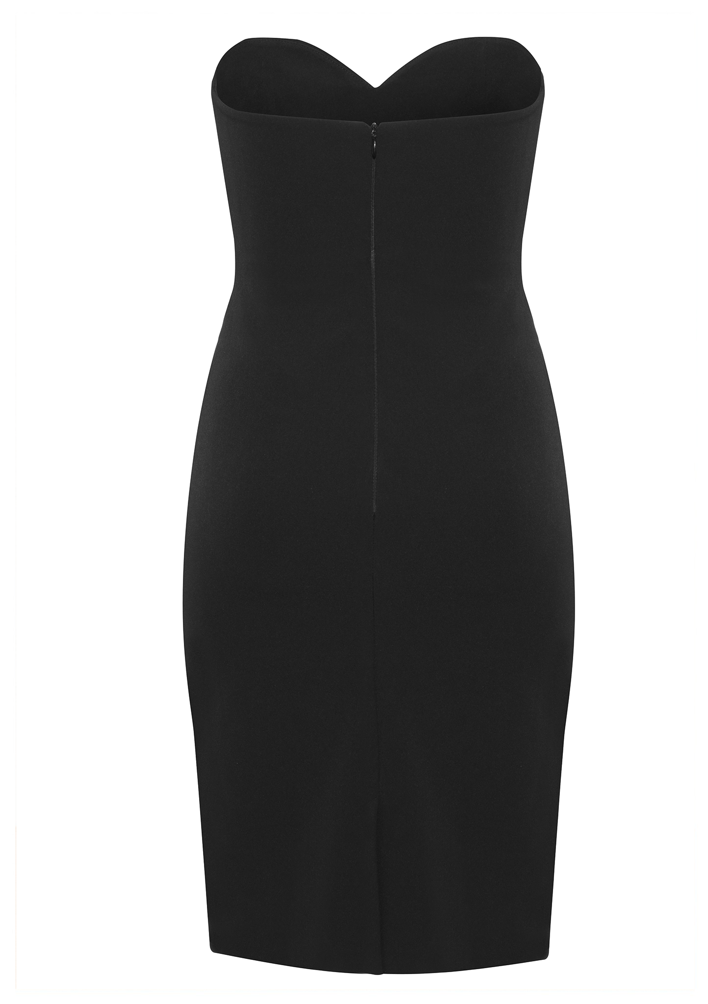 Michele Stretch Cady Dress - HEMYCA London