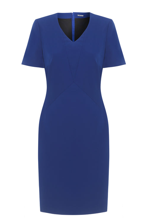 Nora Stretch Cady Dress - HEMYCA London