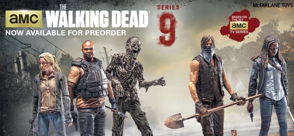 McFarlane Toys The Walking Dead AMC Series 9 Now Available for Pre Order