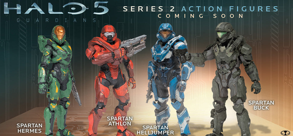 McFarlane Halo 5: Guardians Series 2 Now Available for Pre Order