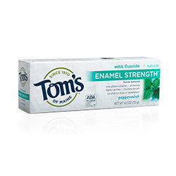Tom's of Maine - Enamel Strength 4oz - Peppermint