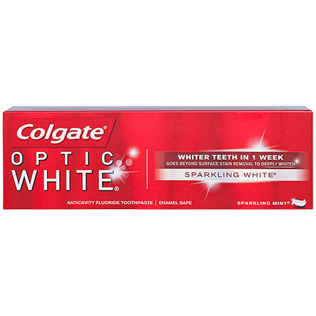 Colgate Optic White Paste 4.4 oz - Sparkling Mint