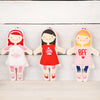 Doll Bag Charm Key Ring Toy, Three Styles