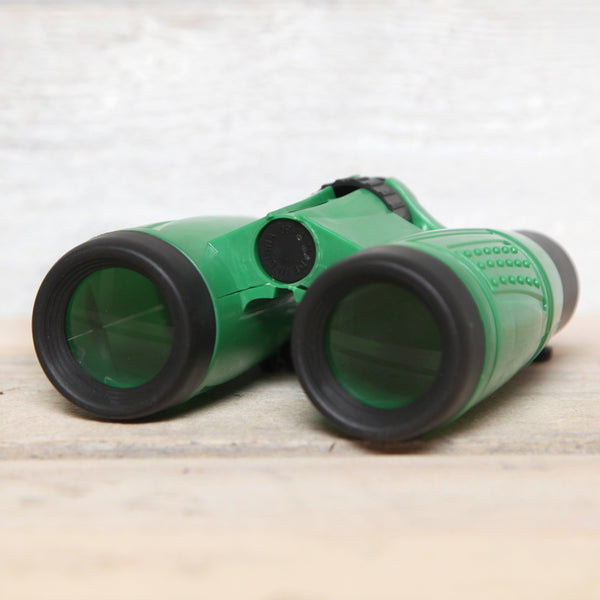 Childrens Green Binoculars