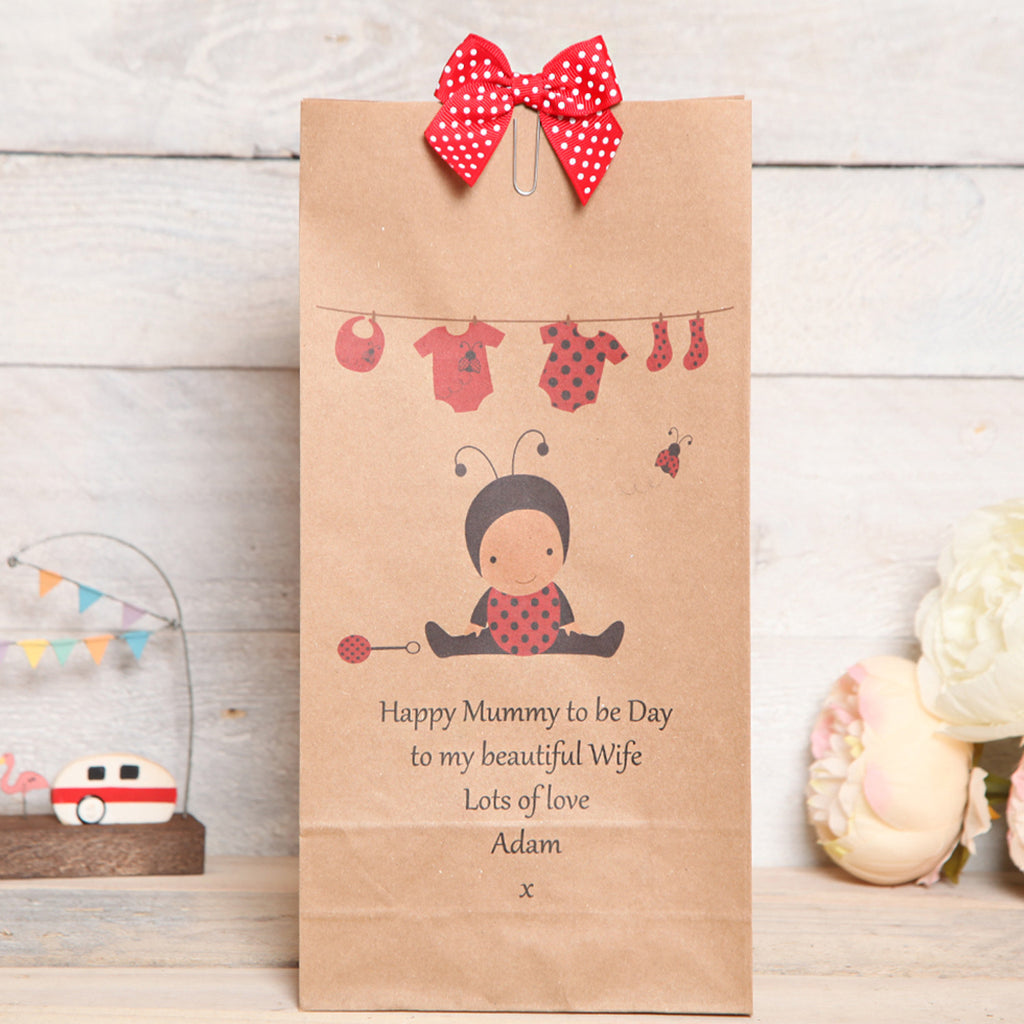 Mum To Be, New Mum Personalised Gift Bag