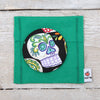 Sugar Skull Handbag or Pocket Mirror, 3 colours
