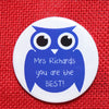 Owl Key Ring Magnet Or Bottle Opener