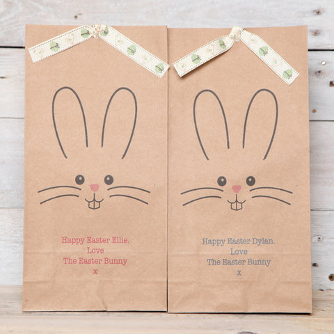 Easter Bunny Boy Or Girl Personalised Bag