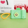 Wooden Camera And Personalised Gift Bag