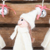 Set Of Three Christmas Caroler Decorations