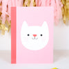 Cutie Cat Stationery Set With Personalised Bag