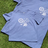 Father And Child Cycling Parts T Shirt set