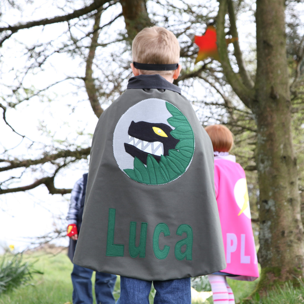 Personalised Dinosaur Cape