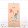 Personalised Dinosaur Party Bags