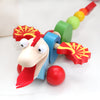 Personalised Cotton Bag And Dragon Pull Along Toy