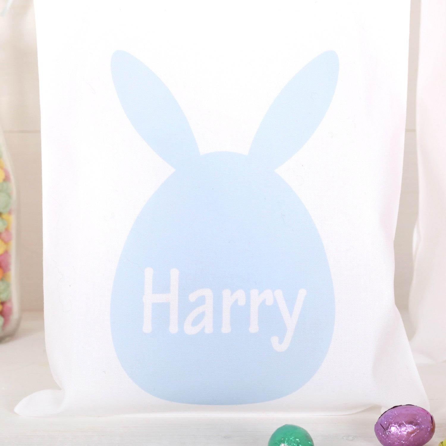 Children personalised easter egg gift bag red berry apple children personalised easter egg gift bag negle Image collections